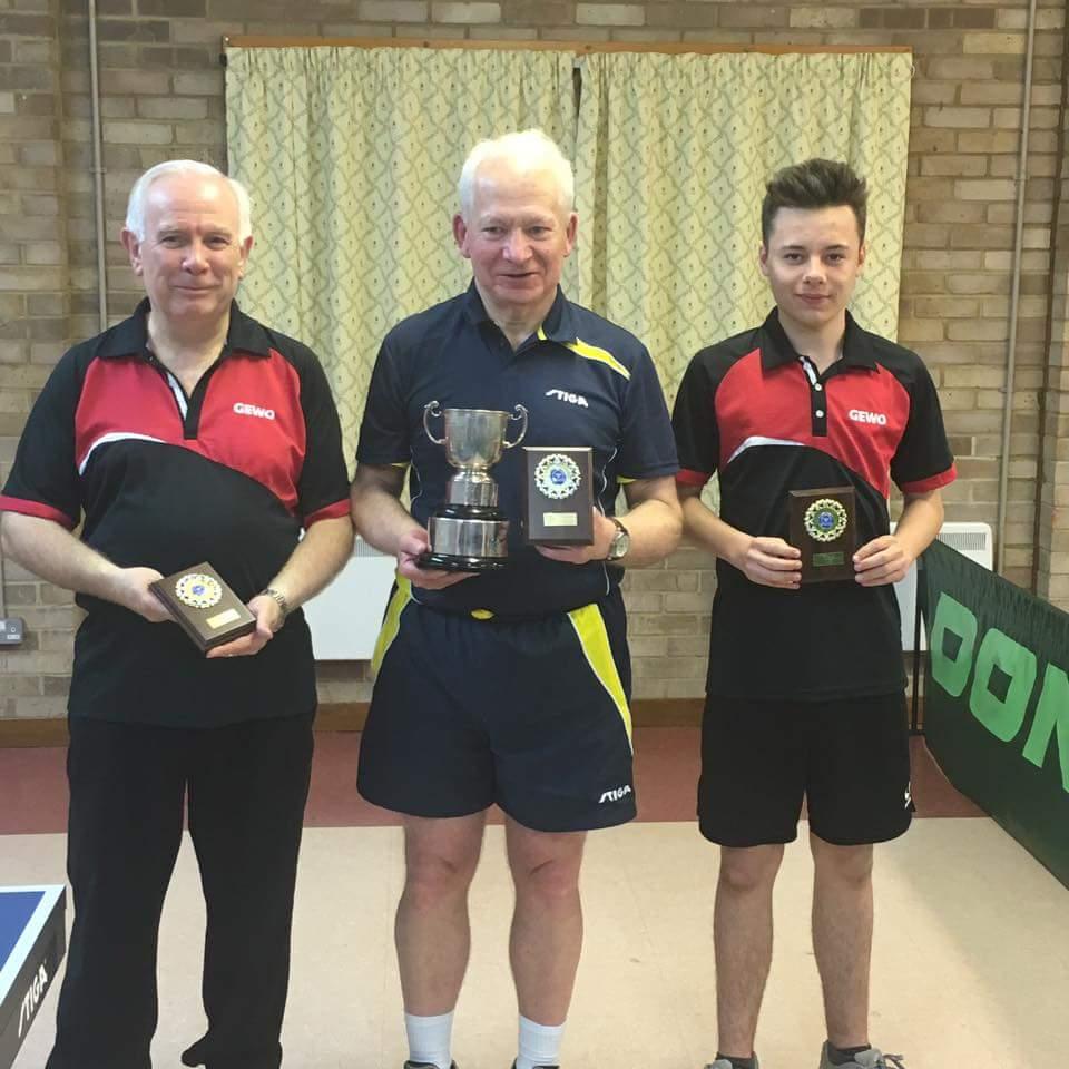 Smith Cup Winners (Martin Walters, Trevor Beard, Josh Hallam)